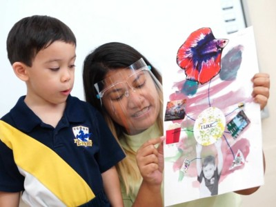 """Video Thumbnail : Nursery 2A students on """"Similarities and differences between us"""""""
