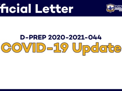Cover Photo - Official Letter : COVID-19 Update